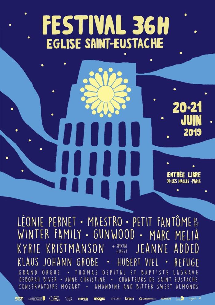 Fête de la musique 2019 - Festival 36h St Eustache