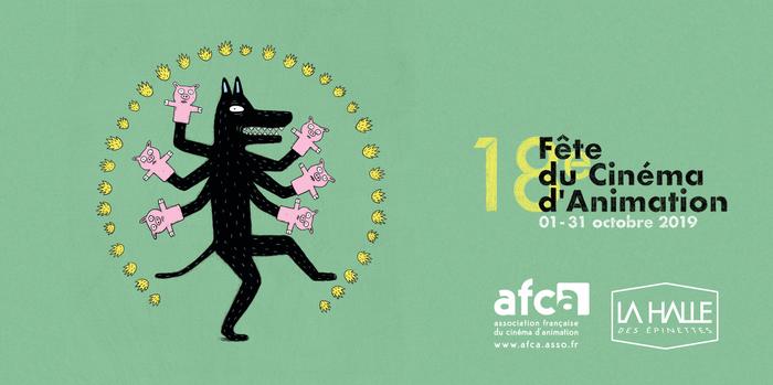 Ciné des enfants ♥ 18ème Fête du cinéma d'animation