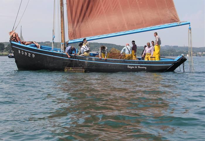 Journées du patrimoine 2020 - Visite commentée de la Bergère de Domremy, coquillier de la rade de Brest