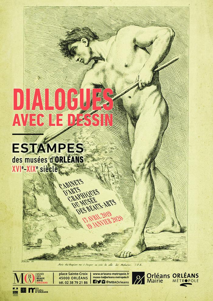 Journées du patrimoine 2019 - Dialogues avec le dessin- Estampes du XVIe au XIXe siècle-Exposition dans les cabinets d'arts graphiques