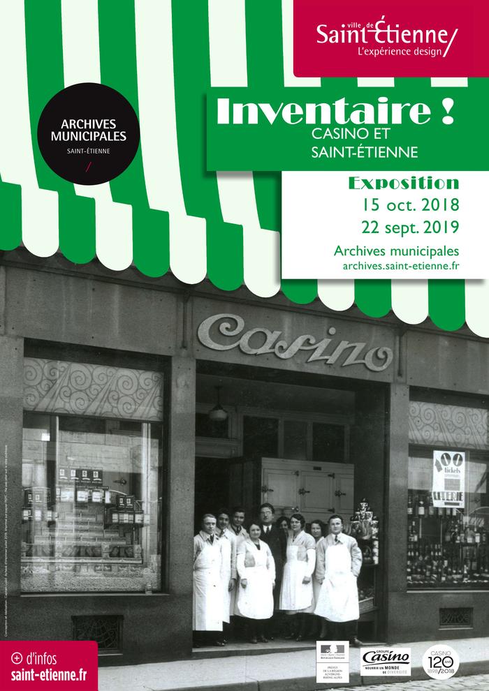 Journées du patrimoine 2019 - Inventaire ! Casino et Saint-Étienne