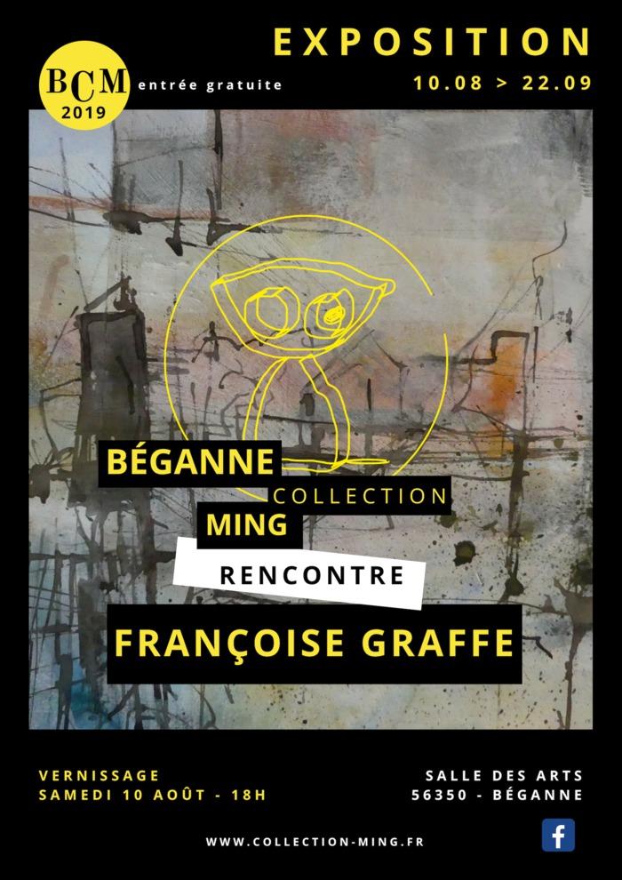 Journées du patrimoine 2019 - La Collection Ming rencontre Françoise Graffe