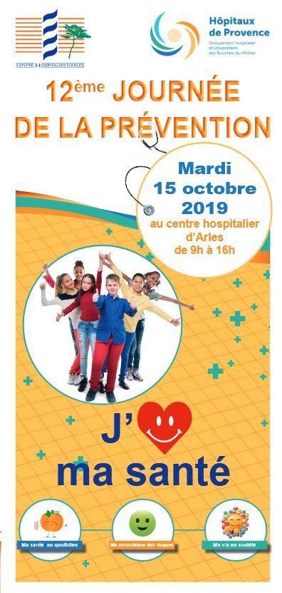 Le centre hospitalier d'Arles présente la 12ème édition de la Journée de la Prévention sur le thème de la Santé des Jeunes.