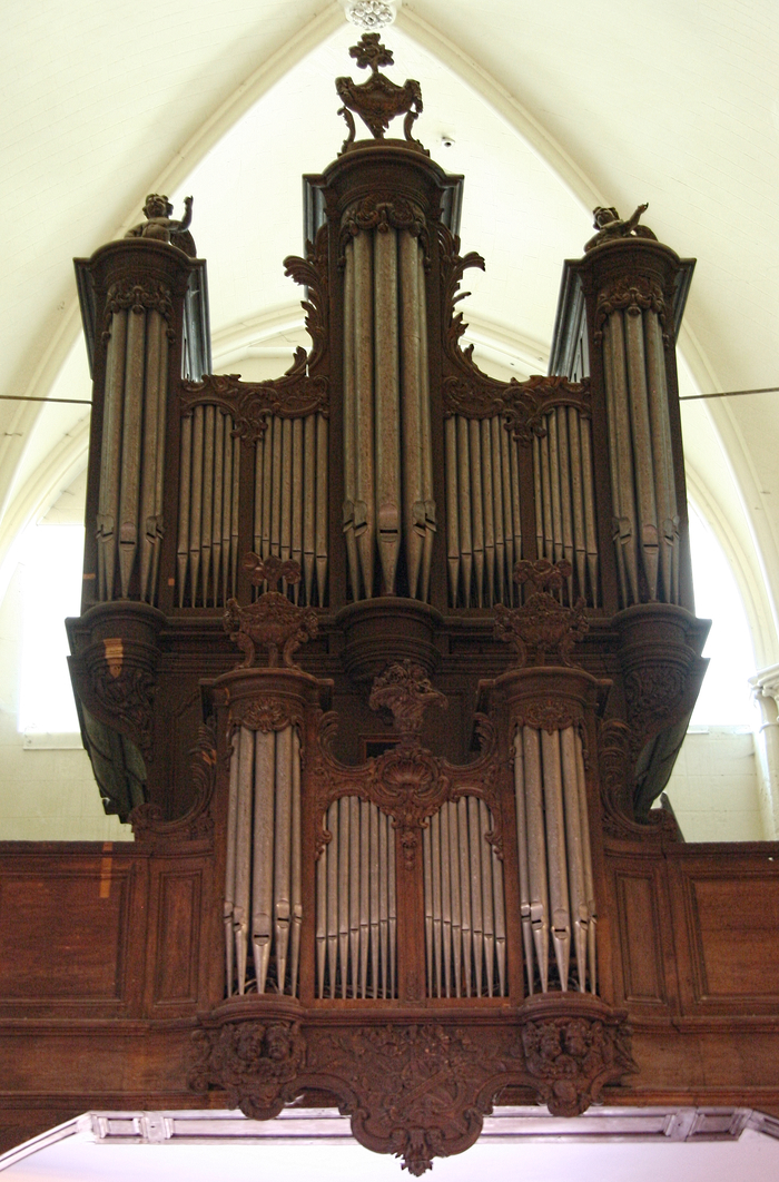 Journées du patrimoine 2019 - Présentation des grandes orgues de l'église Saint Ayoul