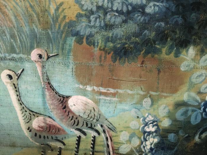 Journées du patrimoine 2019 - Visite des toiles peintes du presbytère (XVIIIe siècle)