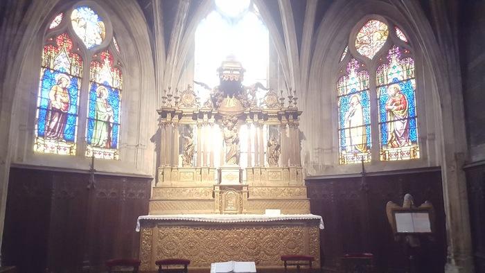 Journées du patrimoine 2019 - Atelier de restauration par Innovatis Basilica pour la rénovation de la Basilique de Chaumont
