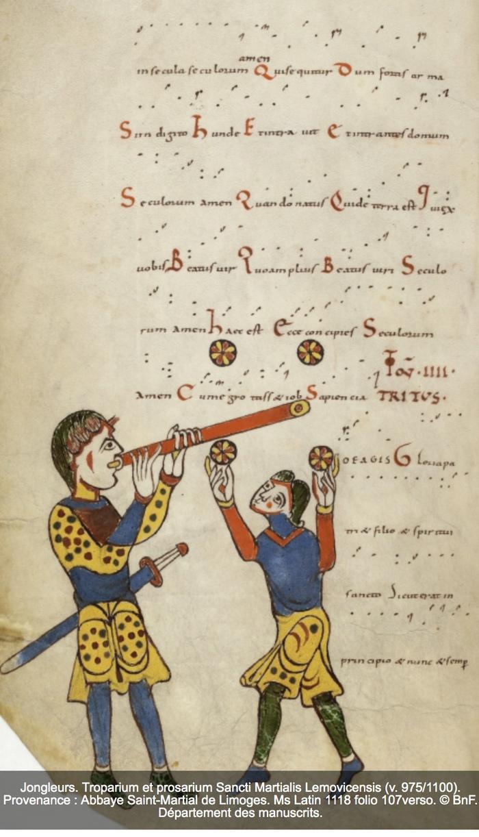 Journées du patrimoine 2019 - Les fêtes et divertissements à l'époque médiévale