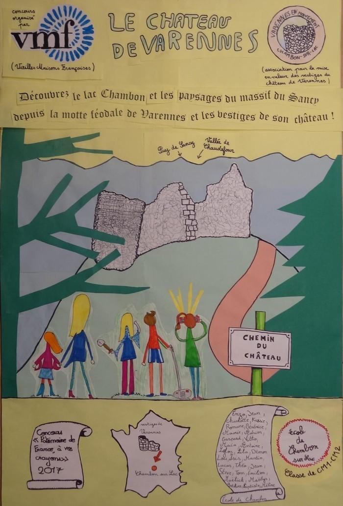 Journées du patrimoine 2020 - Visite guidée motte féodale perchée Varennes-lac Chambon