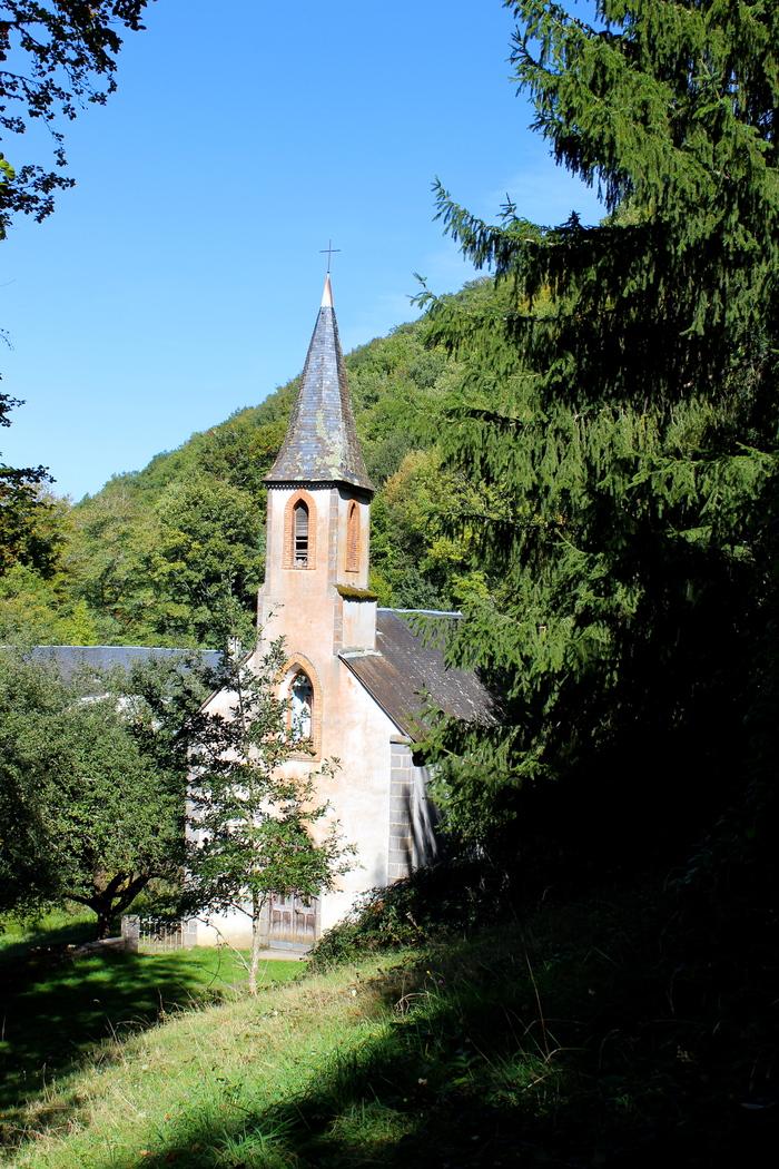 Journées du patrimoine 2019 - L'ancien couvent de la Thébaïde, caché dans la forêt de la Haute-Dordogne