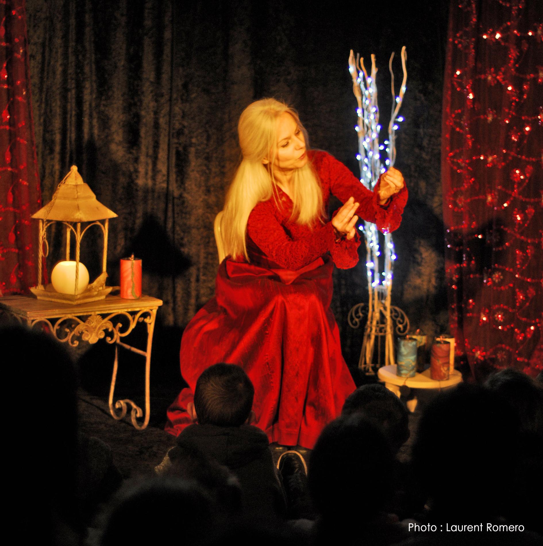 Stéphanie Rondot nous propose des contes de Noël mystérieux