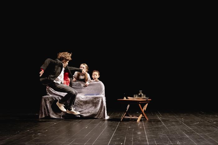 Stage de théâtre improvision pour enfants - Cie de L'Athanor