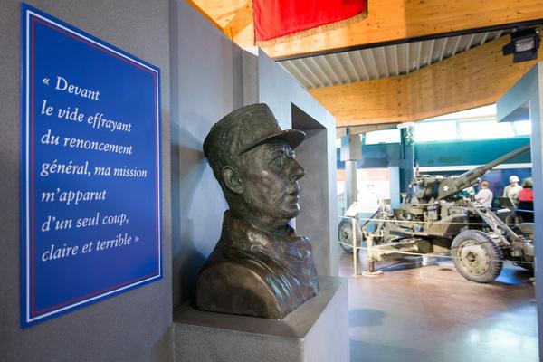 Nuit des musées 2019 -Exposition : Charles De Gaulle - parcours de guerre de 1940 à 1944