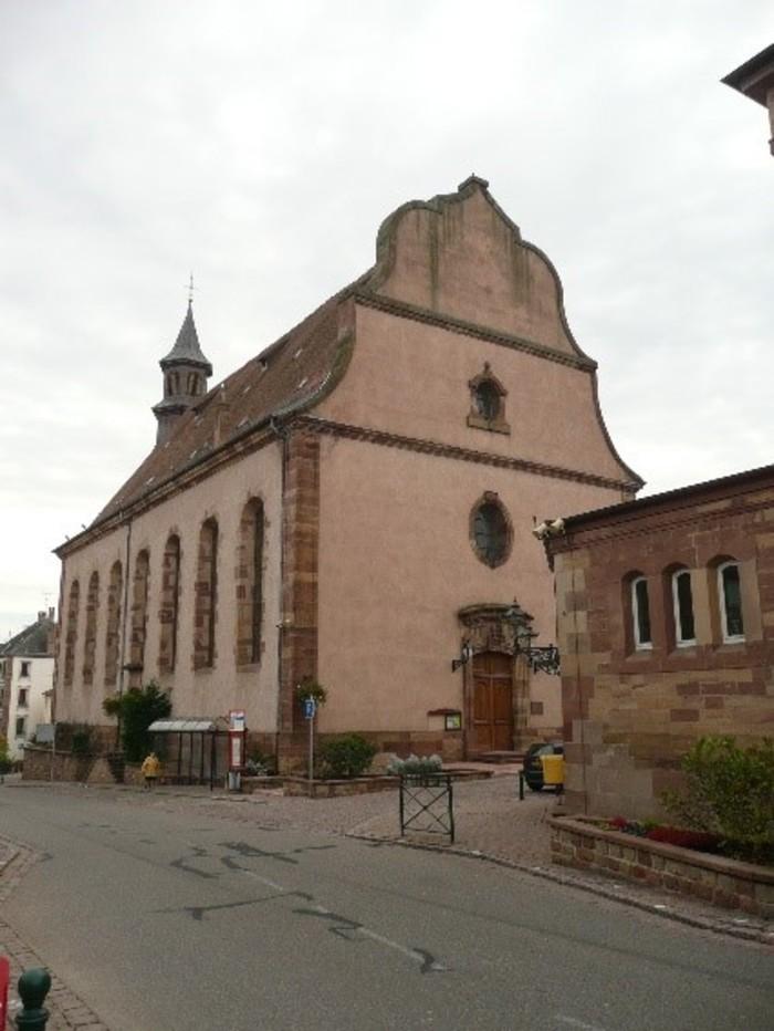 Journées du patrimoine 2019 - Visite libre l'église protestante Saint-Laurent