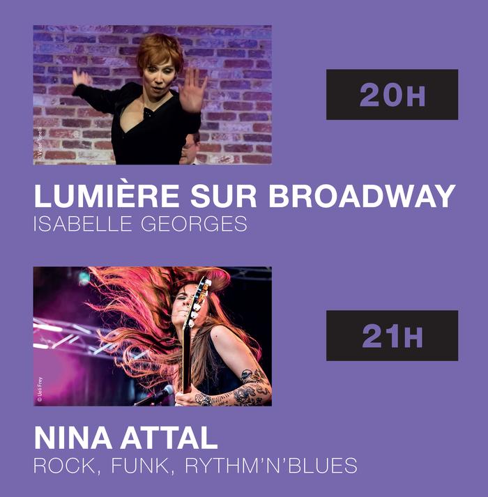 Fête de la musique 2019 - Les Talents + Isabelle Georges + Nina Attal