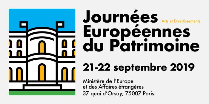 Journées du patrimoine 2019 - Découvrez le ministère de l'Europe et des Affaires étrangères