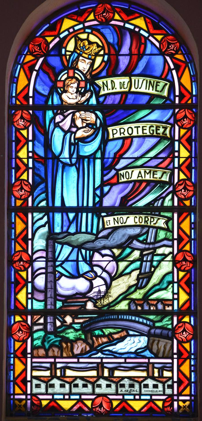 Journées du patrimoine 2020 - Visite guidée de la chapelle Saint-Louis à La Praz (Freney) et de son vitrail