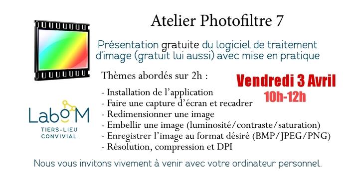 Atelier Retouche d'Image - Capture d'écran