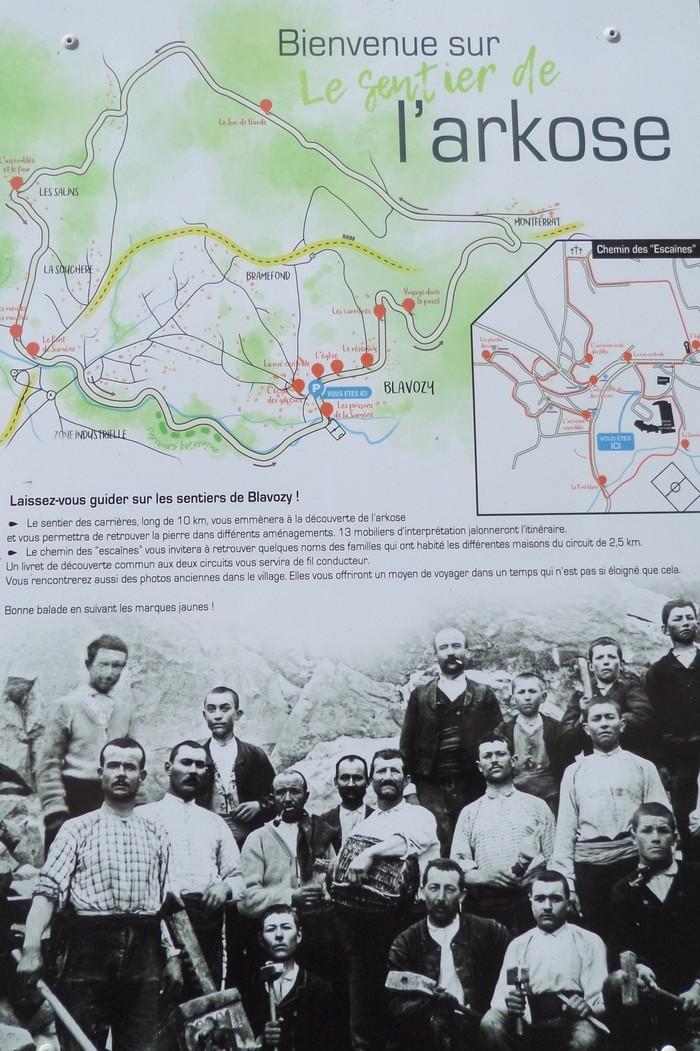 Journées du patrimoine 2020 - Balade guidée sur le sentier des Escaïnes à BLAVOZY
