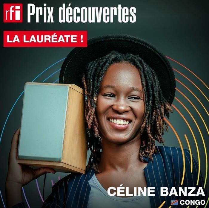 La chanteuse congolaise Céline Banza, lauréate du Prix Découverte Radio France Internationale 2019, sera à Nairobi avec son groupe de cinq musiciens.