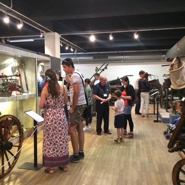 Nuit des musées 2019 -Visite du parcours permanent