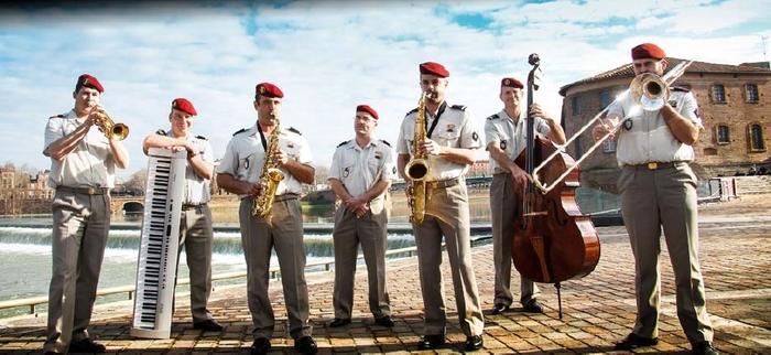 Fête de la musique 2019 - Combo Jazz de la musique des parachutistes de Toulouse