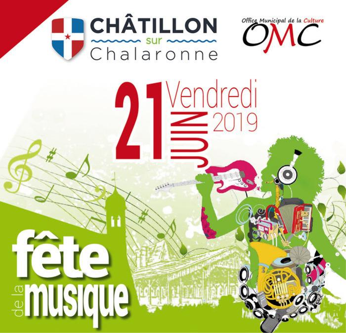 Fête de la musique 2019 - Union Musicale & Classe d'orchestre / Les mauvaises Graines / Ecole de Musique Fanfare Jazz