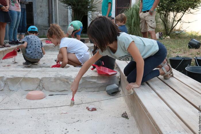 Journées du patrimoine 2019 - Atelier petits archéologues ANNULE POUR INTEMPERIES