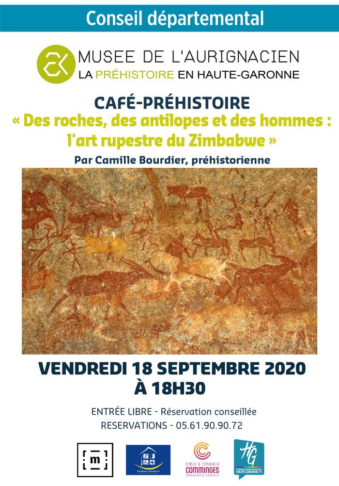 Journées du patrimoine 2020 - Café-préhistoire de Camille Bourdier