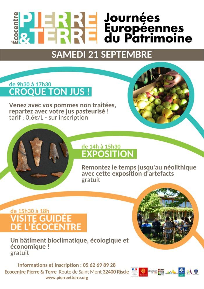 Journées du patrimoine 2019 - Croque ton jus !