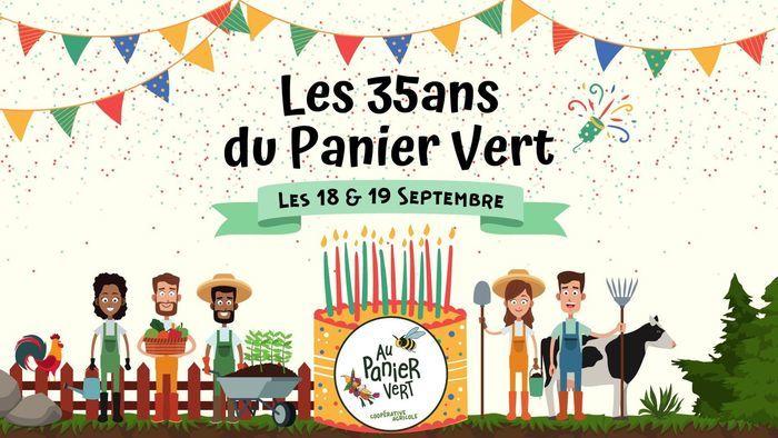 C'est la fête : les 35 ans du Panier Vert