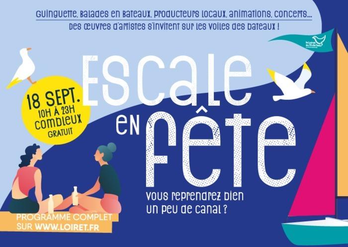Samedi 18 septembre, le Département du Loiret prend ses quartiers au bord du canal, à Combleux, et y organise, de 10 h à 23 h, une grande fête à l'esprit guinguette.