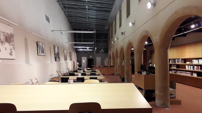 Journées du patrimoine 2019 - Visite libre de la salle de lecture des Archives municipales de Metz