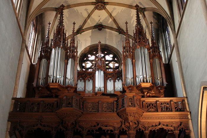 Journées du patrimoine 2020 - Visite de l'orgue de la Collégiale Saint-Thiébaut