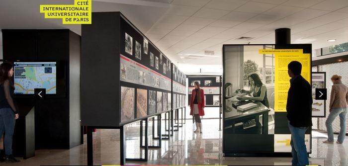 Journées du patrimoine 2020 - Visite libre de L/OBLIQUE, l'espace d'exposition permanent sur l'histoire de la Cité internationale