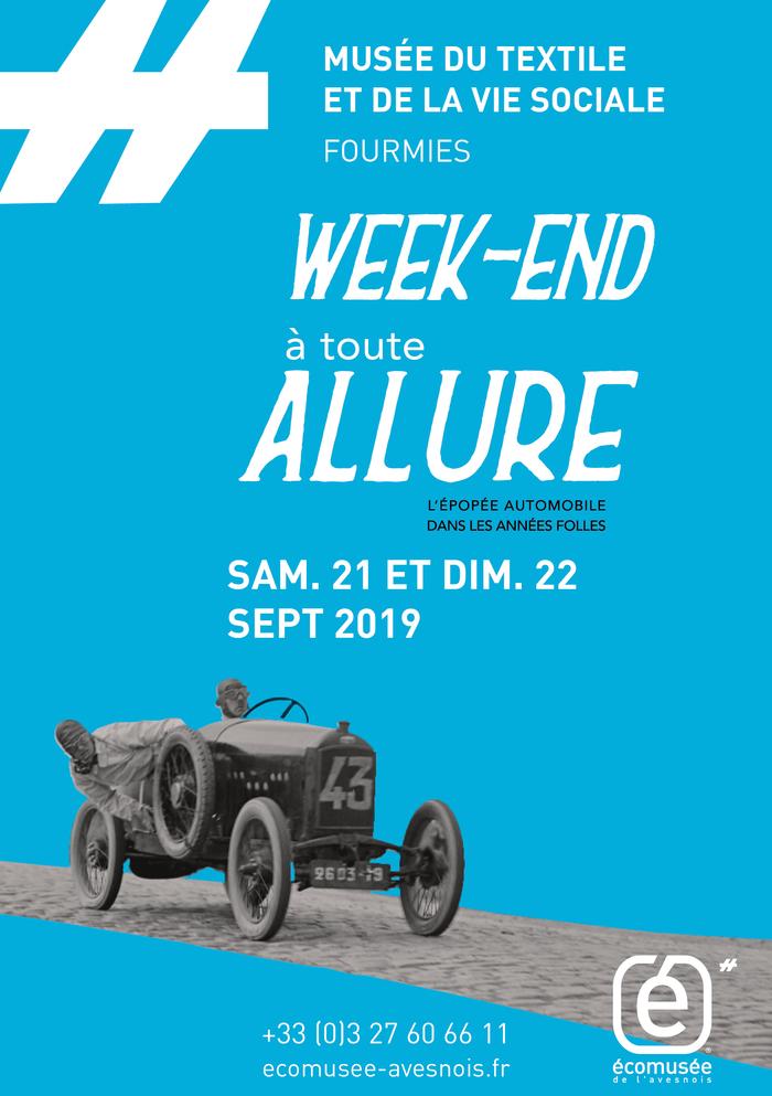 Journées du patrimoine 2019 - WEEK END A TOUTE ALLURE