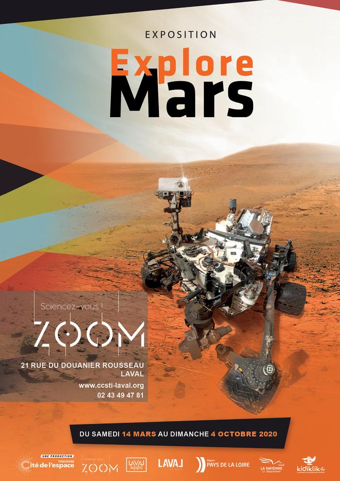 Journées du patrimoine 2020 - Explore Mars