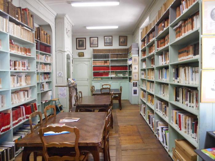Journées du patrimoine 2019 - Présentation de la bibliothèque patrimoniale et historique de la Société de BORDA