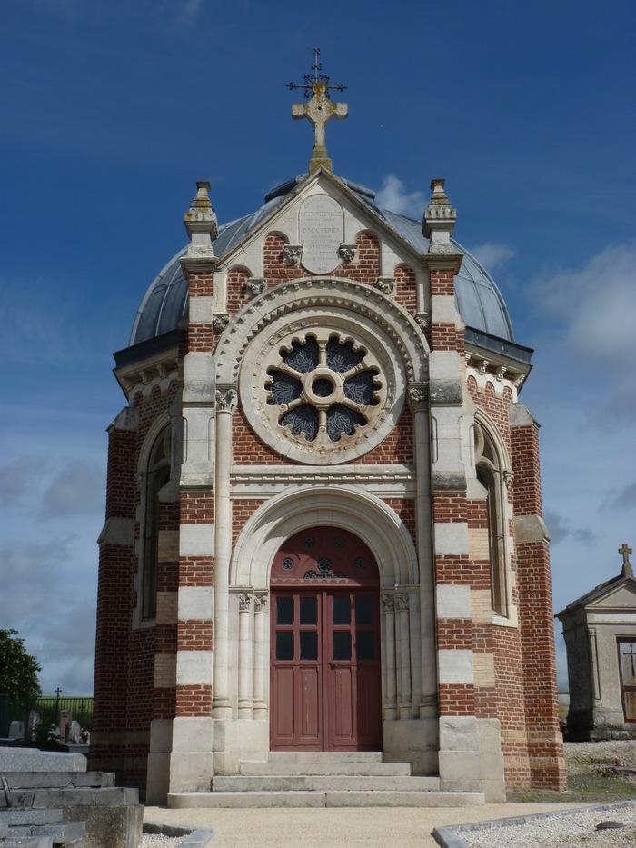 Journées du patrimoine 2020 - Visite commentée de la Chapelle funéraire Frédéric Viefville