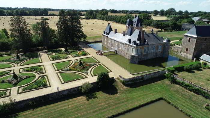 Journées du patrimoine 2020 - Visite libre des extérieurs du château et des jardins des Arcis
