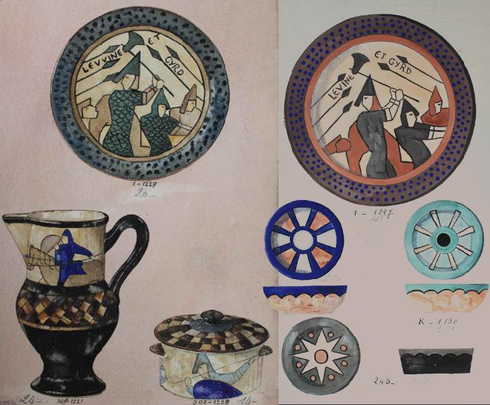 Journées du patrimoine 2019 - Tapisserie de Bayeux : inspiration faïence