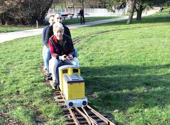 Journées du patrimoine 2020 - Le petit train dans la prairie