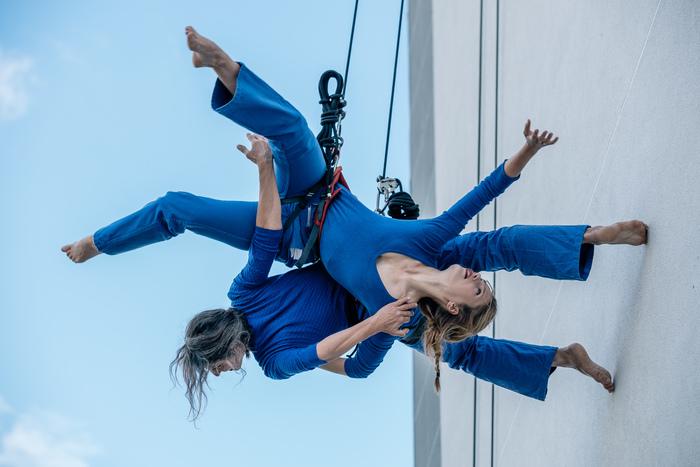 Journées du patrimoine 2019 - Spectacle de danse verticale de la Compagnie Retouramont
