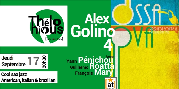Alex Golino 4 : « It's All Music »
