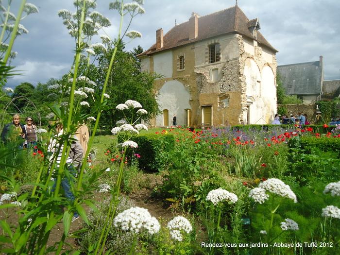 Journées du patrimoine 2019 - Visite libre de l'abbaye de Tuffé et de ses jardins