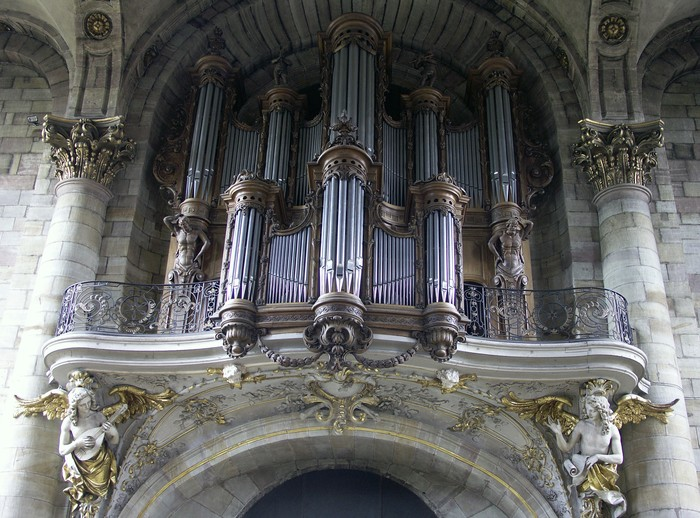 Journées du patrimoine 2020 - Visite commentée des orgues de l'Abbatiale Saint-Nabor
