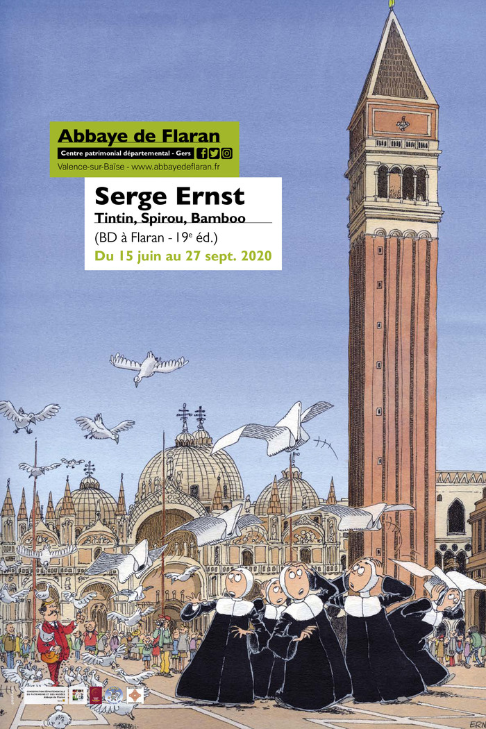 Journées du patrimoine 2020 - Exposition et rencontre de l'artiste Serge Ernst