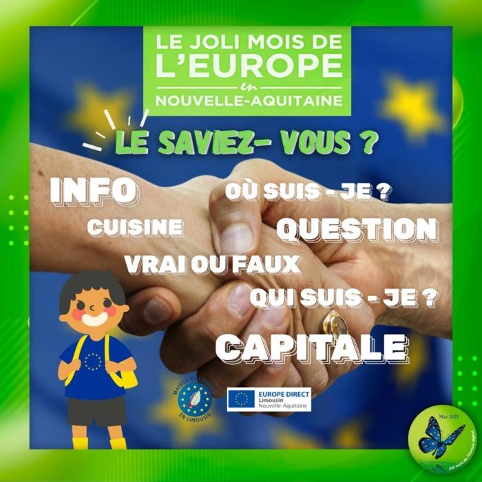 Le saviez-vous ? Le Joli Mois de l'Europe en digital