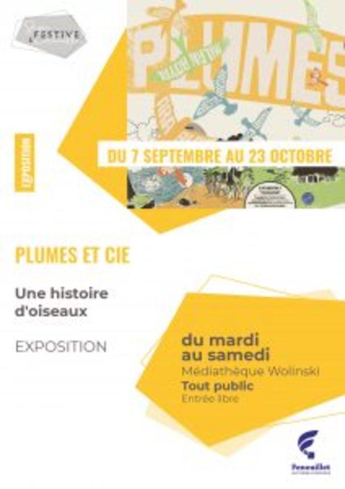 Une histoire d'oiseaux, exposition interactive - Du 7 septembre au 23 octobre