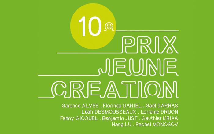 10e Prix Jeune Création de St-Rémy