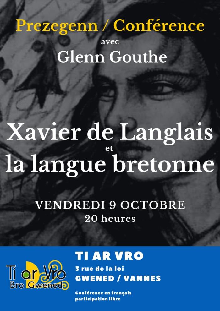 Xavier de Langlais et la langue bretonne